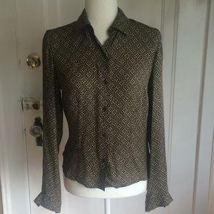 Classy Ann Taylor 100% silk blouse